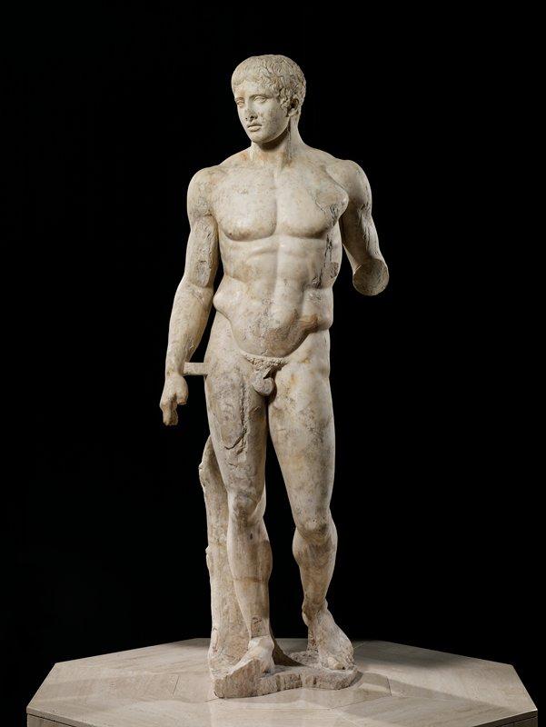 The Doryphoros of Polykleitos