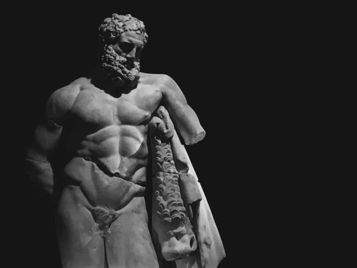 Hercules Greek Statue