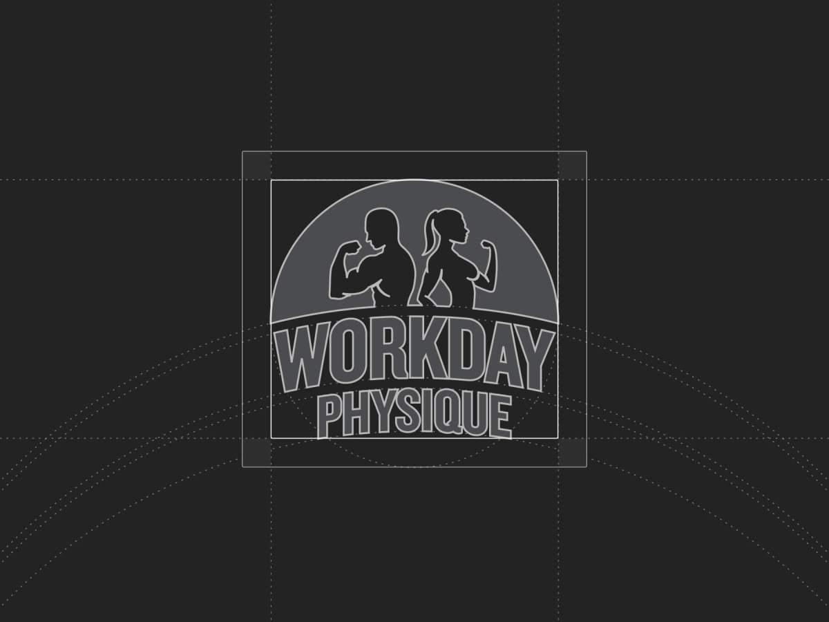 Workday Physique logo black and white